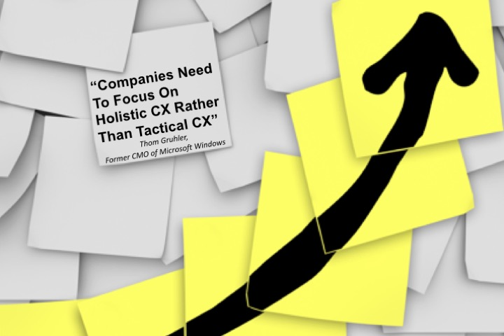"""Companies Need To Focus On Holistic CX Rather Than Tactical CX"""