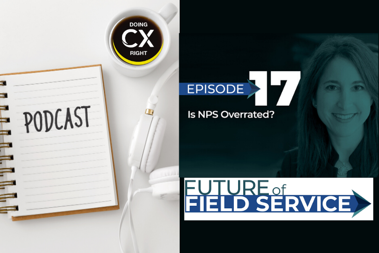 Future of Field Services Interviews Stacy Sherman About NPS. Listen To Podcast Now.
