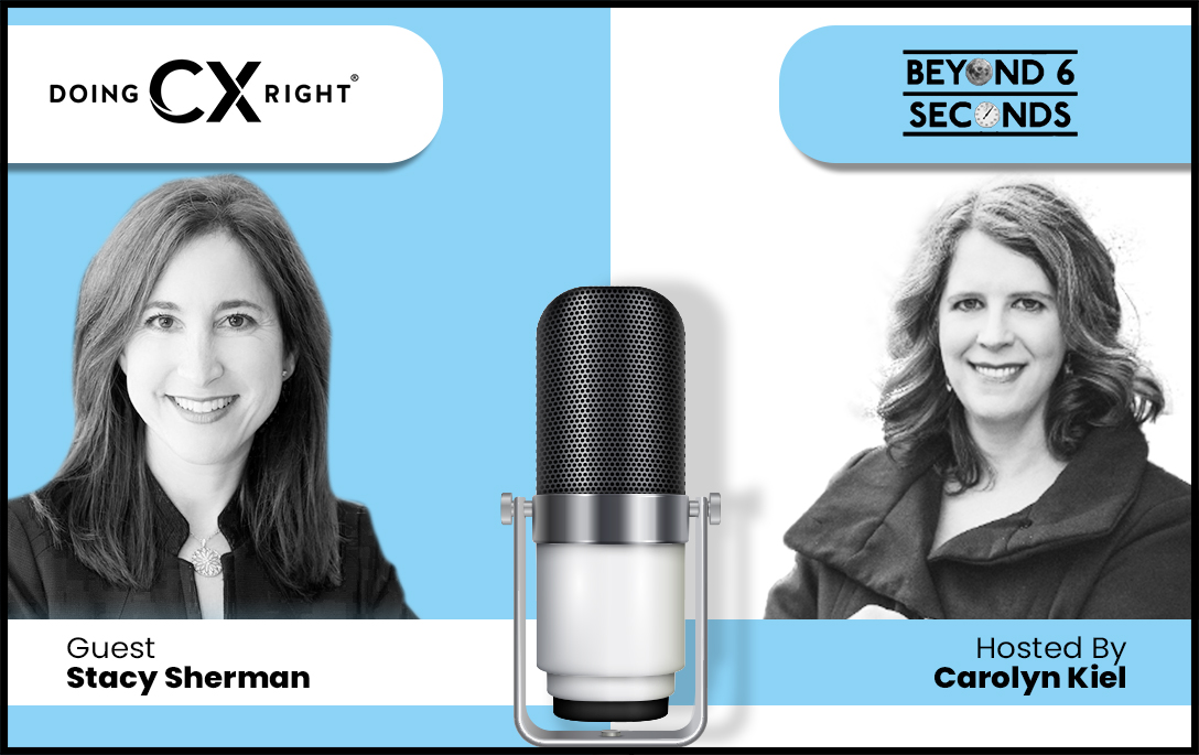 "Stacy Sherman joins ""Beyond 6 Seconds"" podcast featuring extraordinary stories from everyday people"
