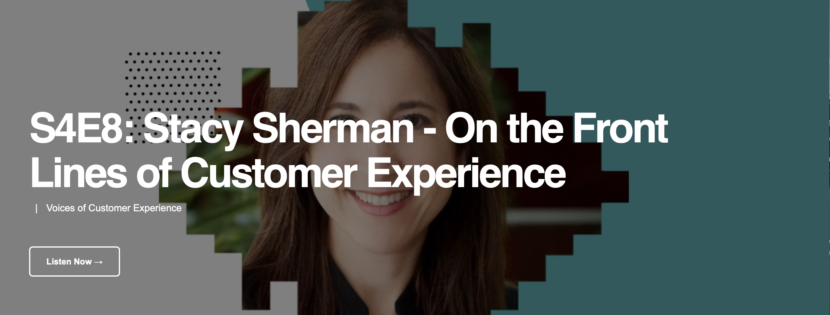 Voices of CX Interviews Stacy Sherman of DoingCXRight