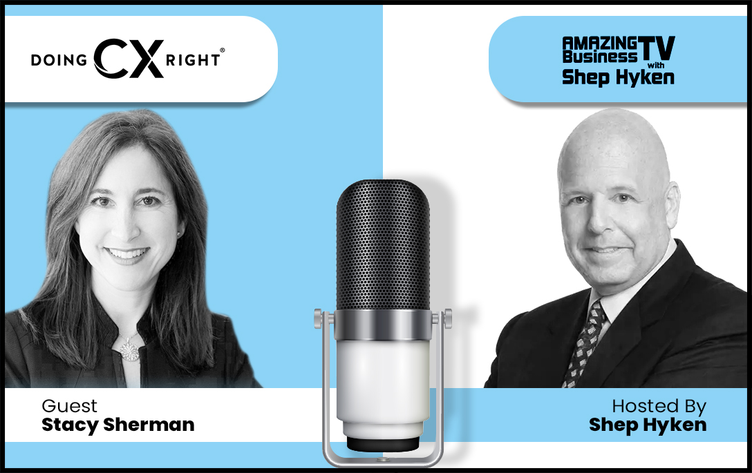 Stacy Sherman joins Shep Hyken's Amazing Business Radio show. Listen & learn about the power of Wow Moments & how you can create them