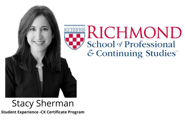 Stacy Sherman CX Program Experience -University Of Richmond