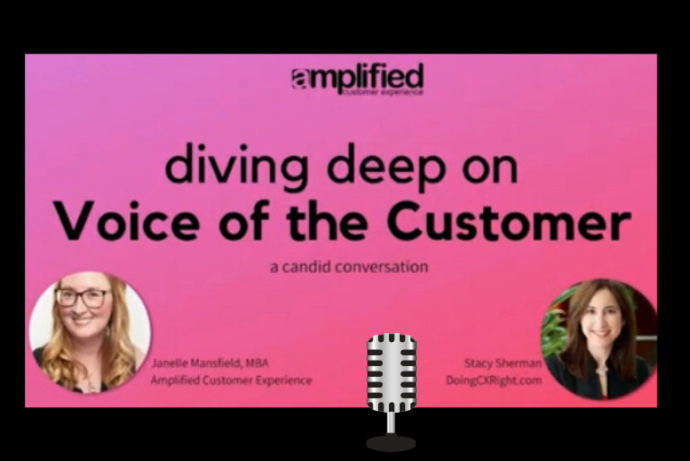 Diving Deep on Voice of Customer with Stacy Sherman of DoingCXRight