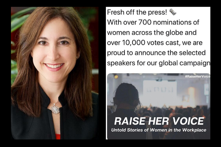 Stacy Sherman Speaks at Raise Her Voice Ellevate Event About Diversity and Inclusion