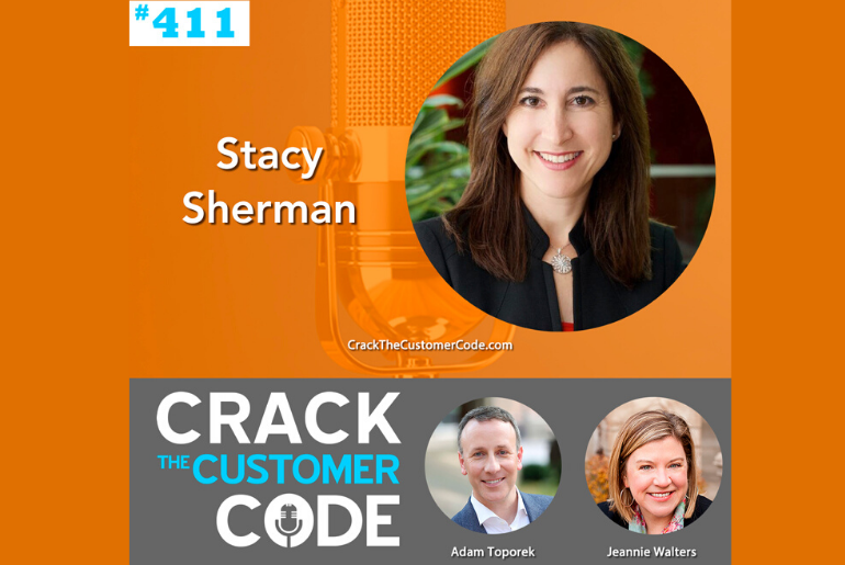 Stacy Sherman Featured on Crack The Customer Code