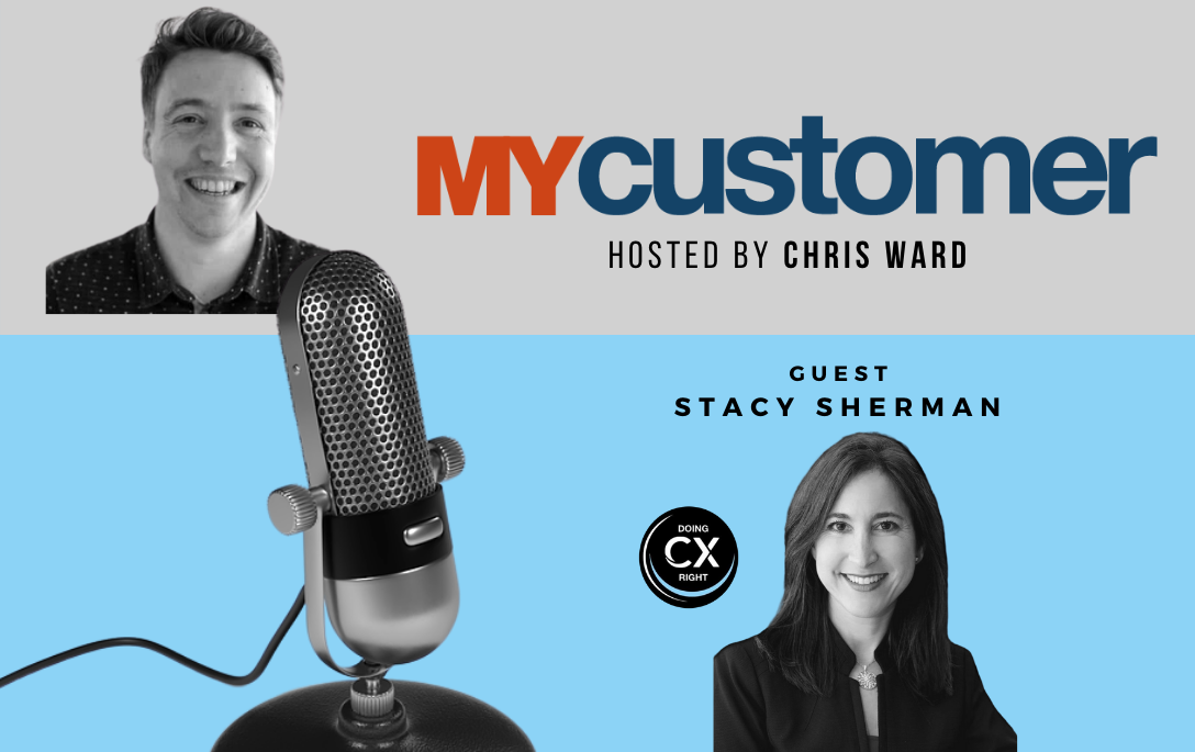 Stacy Sherman joins Chris Wards, Host of MyCustomer award and. events