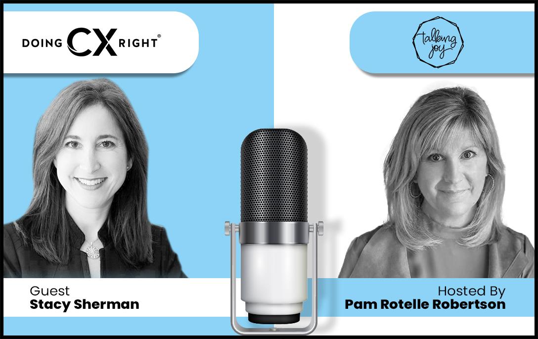 Stacy Sherman Joins Pam Rotelle Robertson on Talking Joy Podcast
