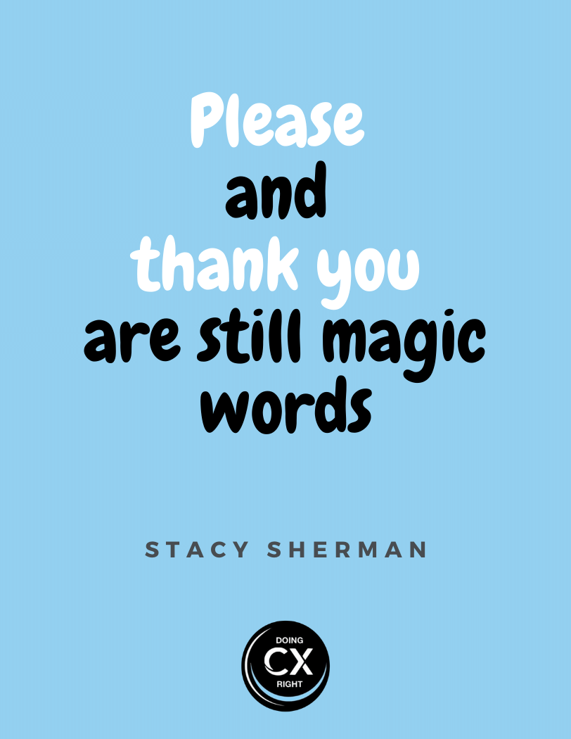CX Quote of the day by Stacy Sherman