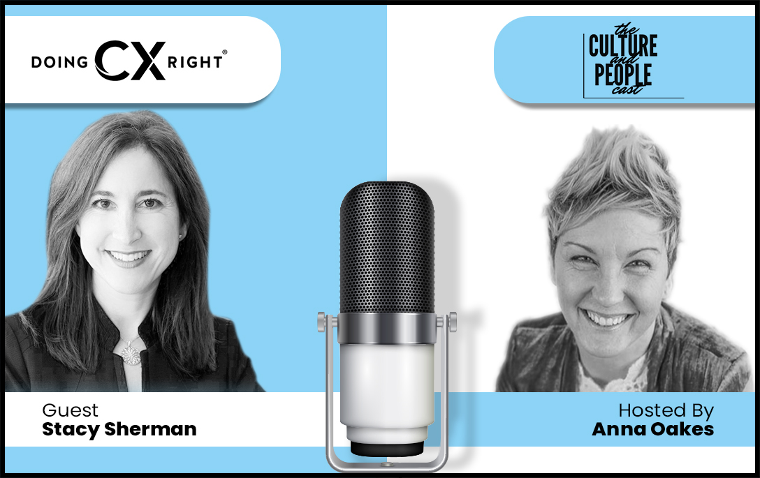 Stacy Sherman joins Anna Oakes, Culture + People Podcast