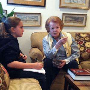 Lindsey Sherman Interviews Holocaust Survivor Marsha Kreuzman.