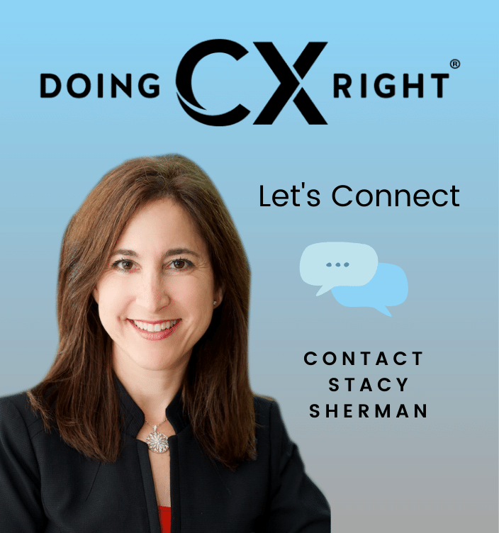 Contact Stacy Sherman about Doing Customer Experience and Service Right