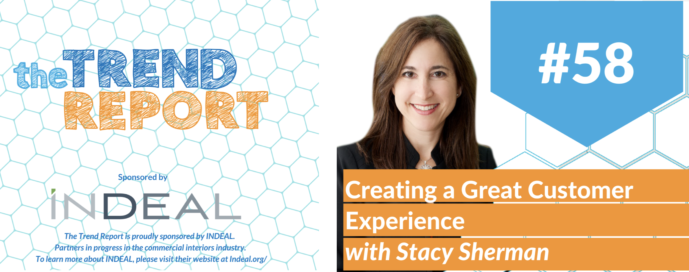 Stacy Sherman featured guest on the Trend Report about Doing Customer Experience Right